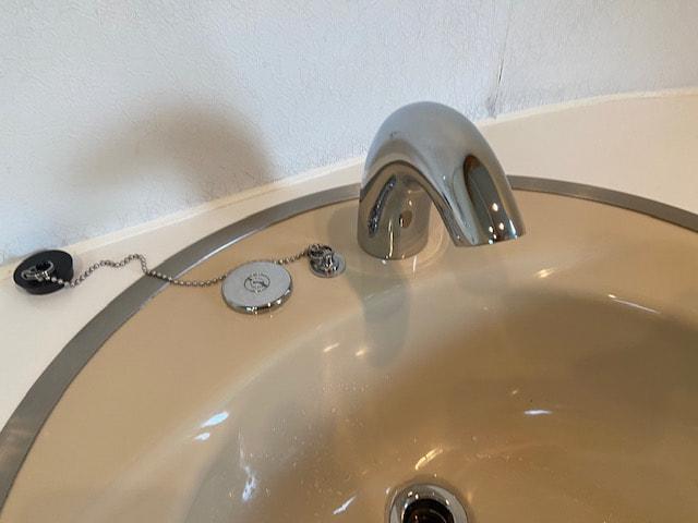 洗面ツーバルブの自動水栓化